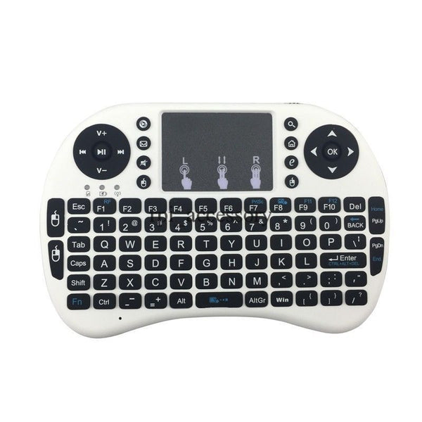 White -Mini Wireless Keyboard For Xbox, PS3, Android TV, nVidia Shield,  Raspberry Pi