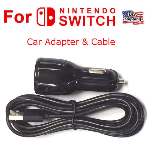 9V/3.1A Fast Nintendo Switch Car Charger, Power Adapter Charging Cord Type-C