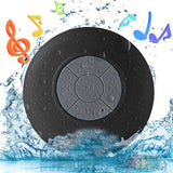 Wireless MINI Speaker for In-Car Hands Free Music, In Shower, Suction Cup, Mic, Phone Support