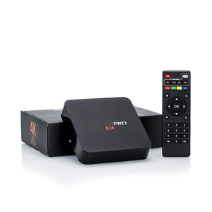 MXQ PRO 4K Android TV Box Quad Core WiFi LATEST with Mini US-i8 Keyboard
