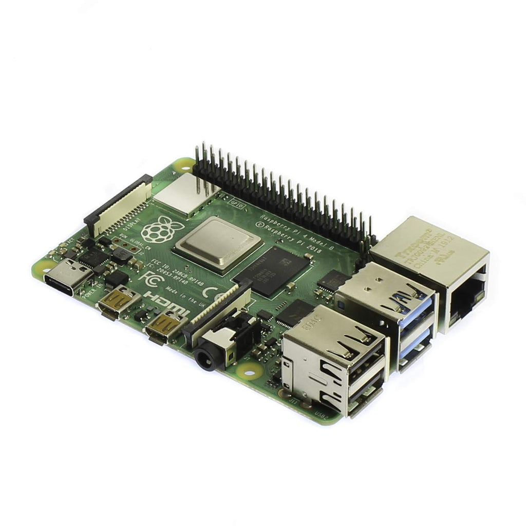 Raspberry Pi 4 Model B 2019 Quad Core 64 Bit WiFi Bluetooth (2GB)