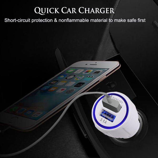 Car Charger USB Cable for Fire Tablets Kindle eReaders, Fire HD 8 HD 10, Kindle Paperwhite Voyage Oasis