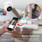 Zoohi Wifi Camera Surveillance Cameras Indoor 1080P Home Camera HD Two Way Audio Wireless Security Camera Onvif Night Vision