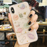 Phone Case Glitter Bling For iPhone Soft Cover for iPhone 11 Pro 8 7 6  XS Max XR X Plus