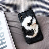 Cute plush toy iPhone Case 11 Pro 8 7 6 XS Max XR X Plus
