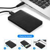 500GB USB3.0 Portable External Hard Drive Ultra Slim Windows/Mac/Xbox one/PS4