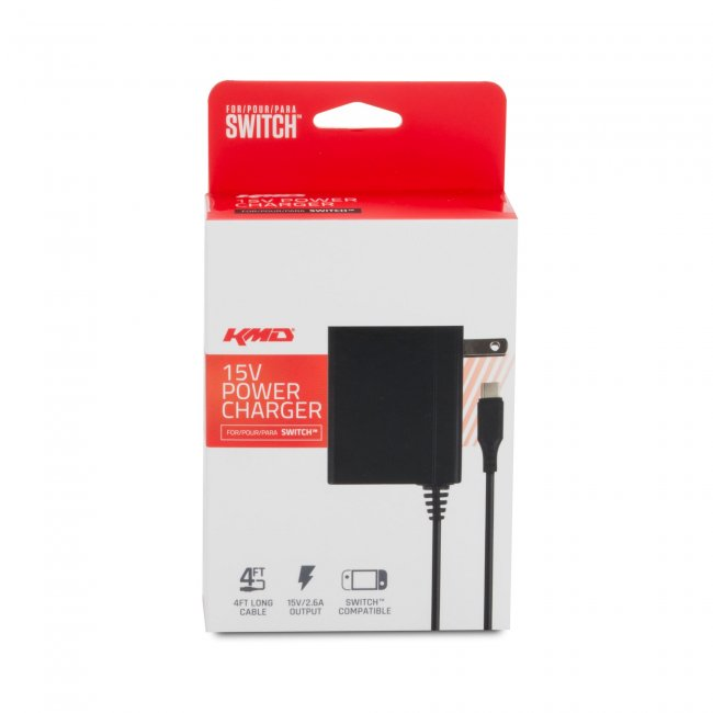 Official Genuine for Nintendo Switch Power Charger AC 15V 2.6A Fast Charging Adapter