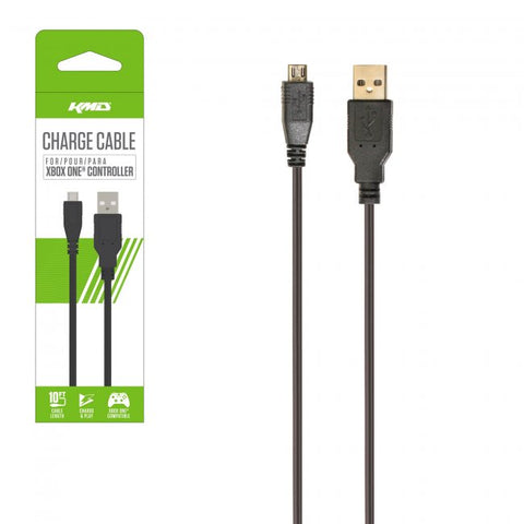 Xbox One Charge Cable for Controllers- Charge & Play - Super Long 10ft.