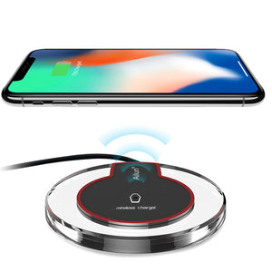 Wireless Phone Charger - Supports  iPhone & Android Phone