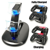 Dual Controller Charger Station for PS4 PlayStation Dualshock fast USB Charging Dock