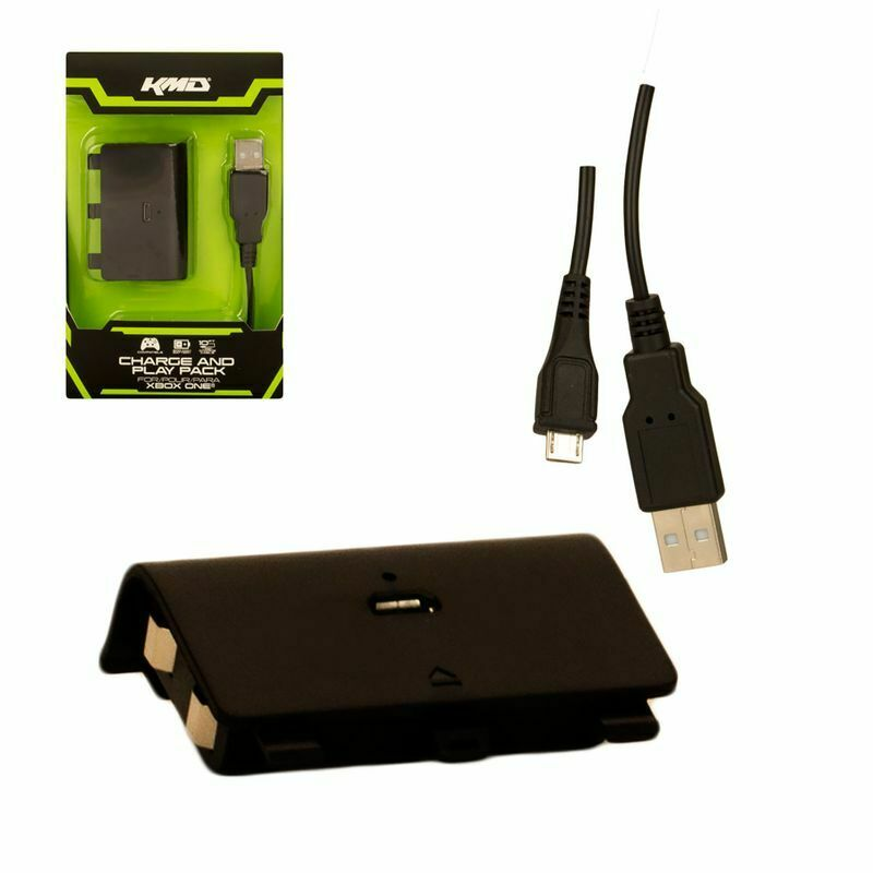 Play and Charge Kit for Xbox One - Charge Cable & Battery pack