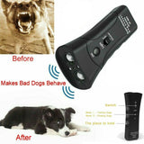 Petgentle Ultrasonic Anti Dog Barking Pet Trainer LED Light Gentle Chaser Device