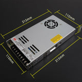 Mean Well LRS-350-24 Power Supply 24V 14.6A 350W Input 110V/220V AC to DC