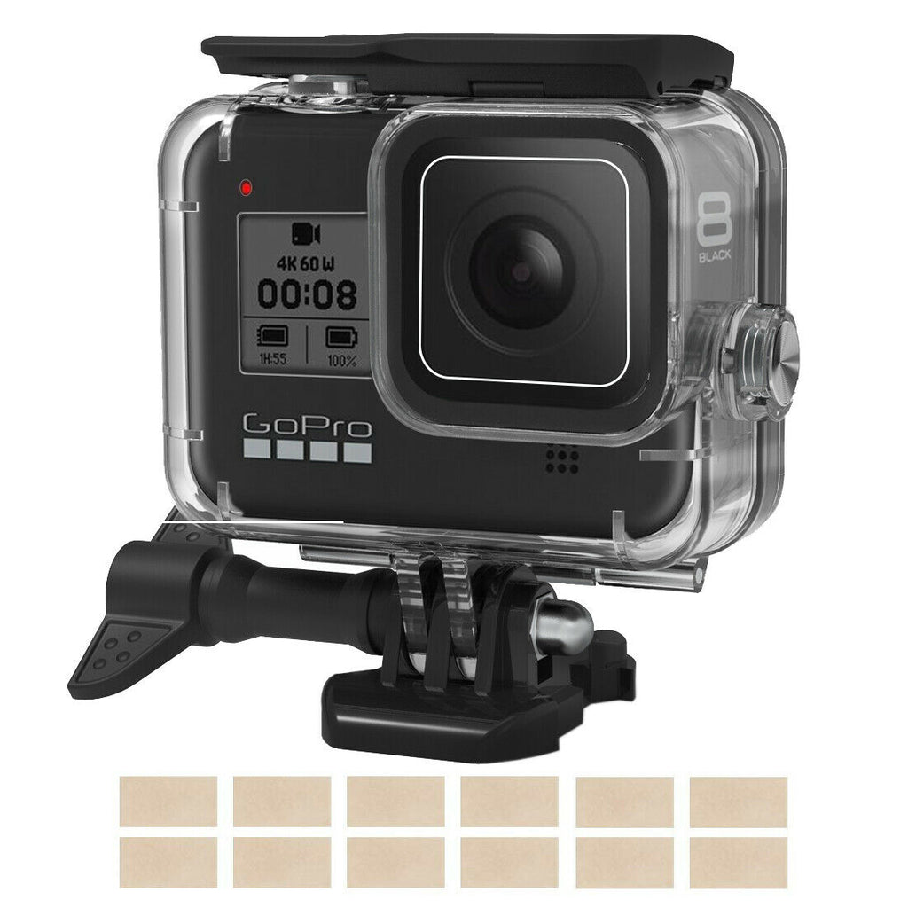 Waterproof Case for GoPro Hero 8 Black Protective Underwater Dive Housing Shell