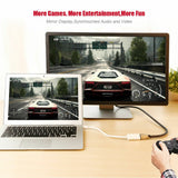 Thunderbolt Mini Display Port DP To HDMI Adapter for Apple MacBook Air Pro iMac