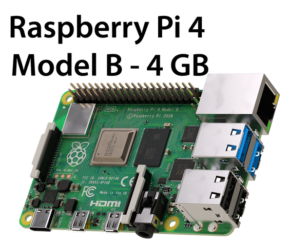 Raspberry Pi 4 Model B (4GB RAM) - NEW 2019 model 4GB