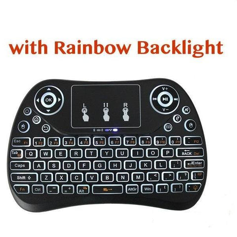 BACKLIT Wireless Keyboard for nVidia Shield, Android Bluetooth Sony TV, Mi Box (BACKLIGHT)