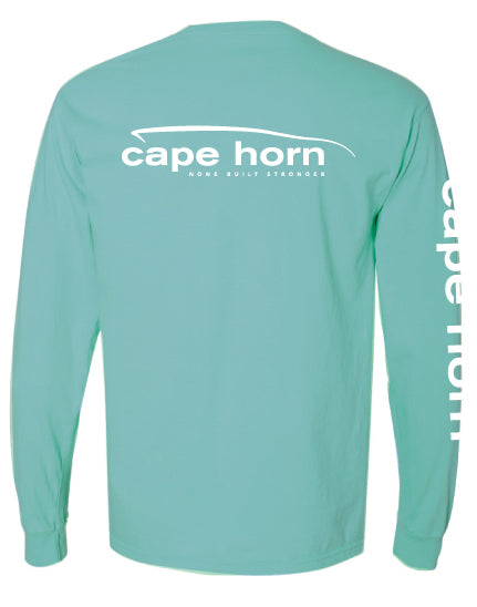 Cape Horn Classic Logo Long Sleeve T-Shirt - Chalky Mint
