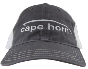 Cape Horn Unstructured Trucker Hat - Charcoal