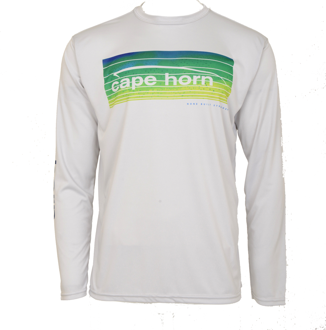 Cape Horn Mahi Stripe Long Sleeve Performance