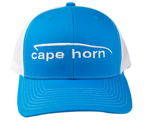 Cape Horn Structured Trucker Hat - Columbia Blue