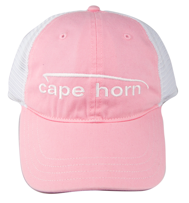 Cape Horn Unstructured Pink Trucker Hat