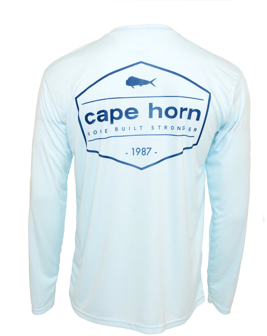 Cape Horn Vintage Stamp Performance Shirt