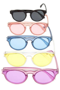 Color framed sunglasses