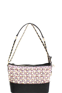 Cute Multi Pearl Crossbody Bag