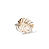 Monstera 3 Bronze Ring