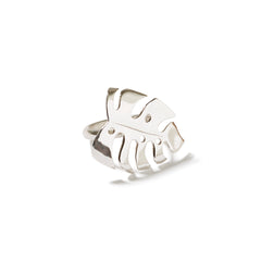 Monstera 4 Sterling Silver Ring