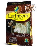 Earthborn Dog Food: Earthborn Holistic® Primitive Natural™. Available online from Yes.Pet