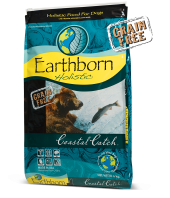 Earthborn Dog Food: Earthborn Holistic® Coastal Catch™. Available online from Yes.Pet