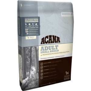 Acana Dog Food: Adult Small Breed Dog - 1 year and older. Available online from Yes.Pet