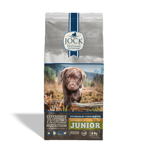 Jock Dog Food: Jock Junior. Available online from Yes.Pet