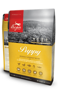 Orijen Dog Food: Puppy. Available online from Yes.Pet