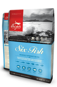 Orijen Dog Food: 6 Fish Dog. Available online from Yes.Pet