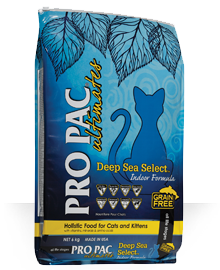 Pro Pac Dog Food: PRO PAC® Ultimates™ Deep Sea Select™ Whitefish & Peas. Available online from Yes.Pet