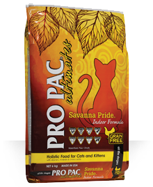 Pro Pac Dog Food: PRO PAC® Ultimates™ Savanna Pride™ Chicken & Peas. Available online from Yes.Pet