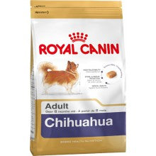 Royal Canin Dog Food: Chihuahua Adult (8 months to Adult and Mature). Available online from Yes.Pet