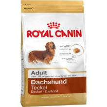 Royal Canin Dog Food: Dachshund Adult (10 months to Adult and Mature). Available online from Yes.Pet