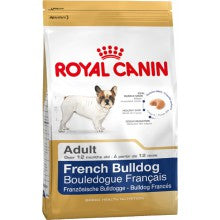 Royal Canin Dog Food: French Bulldog Adult (12 month to Adult and Mature). Available online from Yes.Pet