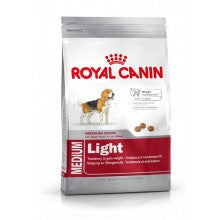 Royal Canin Dog Food: Medium Adult Light Weight Care. Available online from Yes.Pet