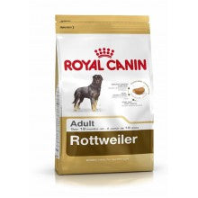 Royal Canin Dog Food: Rottweiler Adult (18 months to Adult and Mature). Available online from Yes.Pet
