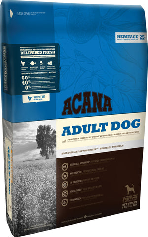 Acana Dog Food: Adult Dog  - For all breeds. Available online from Yes.Pet