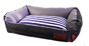 Dog's Life Dog Bed: Retro Lounger Waterproof Winter Bed. Available online from Yes.Pet