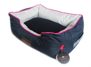 Dog's Life Dog Bed: Waterproof Premium Country Style Bed. Available online from Yes.Pet