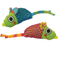 Petstages Cat Toy: Catnip Chew Mice. Available online from Yes.Pet