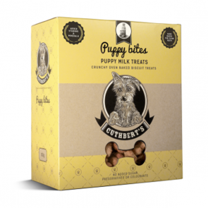 Cuthberts Dog Treat: Puppy Milk Biscuits. Available online from Yes.Pet