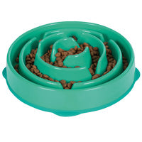 Outward Hound Feeder Bowl: Fun Feeder -Teal. Available online from Yes.Pet